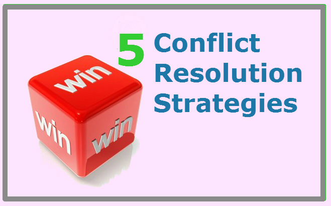 conflict resolution strategies Here are 5 conflict resolution strategies that are more effective, drawn from  research on negotiation and conflicts, to try out.